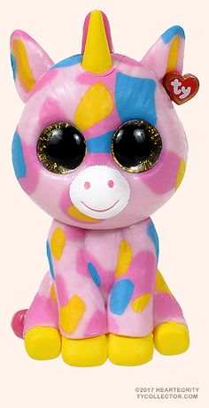 Fantasia, Ty Mini Boos Series 1 unicorn, reference information and photograph. Ty Beanie Boos, Beanie Babies, Mini Boo, Ty Plush, Stone Art Painting, Jojo Bows, Unicorn Kids, Little Poney, 10 Birthday
