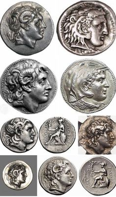 Alexander The Great Ancient Coins! Macedonia, Greece Alexander The Great Ancient Coins! Ancient Egyptian Art, Ancient Aliens, Ancient Greece, Greek History, Ancient History, European History, American History, Alexandre Le Grand, Hellenistic Period