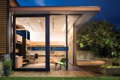 The Accessory Building by mcfarlane green biggar Architecture and Design was designed as a small office in the midst of a residential neighborhood in North Vancouver, British Columbia. At 269 square feet, the building is the maximum size allowed as a non-parking use accessory building.