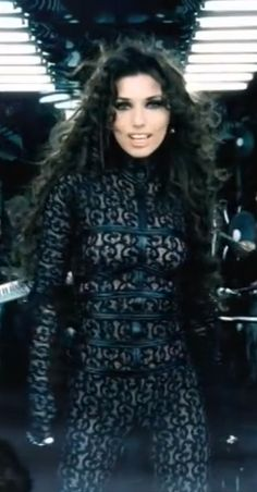 "Shania Twain ""I'm Gonna Getcha Good"" video"