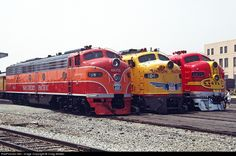 southern pacific railroad | RailPictures.Net Photo: SP 6051 Southern Pacific Railroad EMD E9(A) at ...