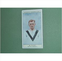 W FLINT NOTTS COUNTY SINGLE CIGARETTE CARD NO 27 OGDEN'S 1926 TILLEYSMAGAZINES.COM