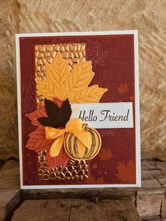 Halloween Cards, Fall Halloween, Fall Cards, Christmas Cards, Pumpkin Cards, Paper Pumpkin, Fun Fold Cards, Quick Cards, Beautiful Handmade Cards