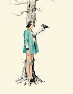 Robi Dwi Antono. #illustration #tree #drawing