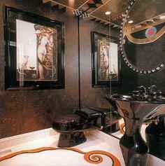black bathroom decor accessories