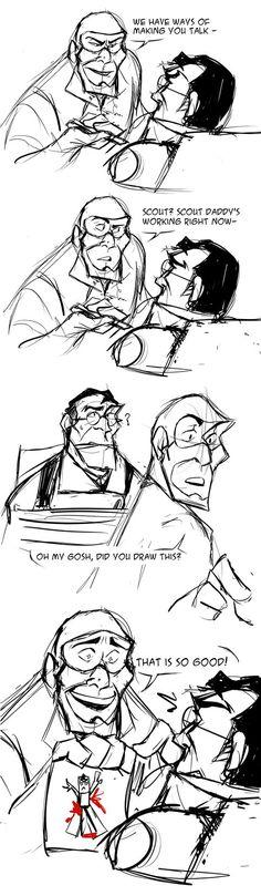 A really evil Spy but a really good dad by PyrotheWolfdog