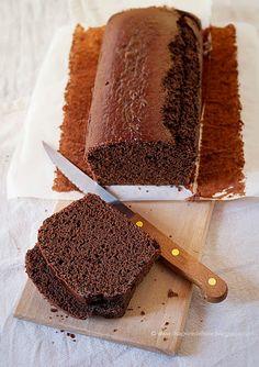 Plumcake al cacao senza grassi e senza uova | IL SAPORE DEL SALE
