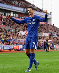 @alvaromorata has been nominated for the Premier League's Player of the Month and Goal of the Month awards for September! Vote using the link in our bio.  #CFC #Chelsea