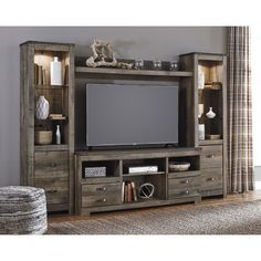 Found it at Wayfair - Entertainment Center Signature Design by Ashley $1105.96