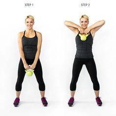 Arm Workout: Blast Arm Jiggle with 5 Best Triceps Exercises Body Fitness, Fitness Diet, Fitness Motivation, Health Fitness, Fitness Workouts, Muscle Workouts, Daily Workouts, Skinny Mom, Kettle Ball
