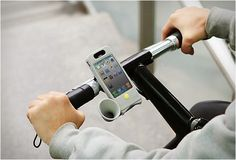 Sound Amplifying Horn Bike Case for Apple iPhone 4 | HiConsumption