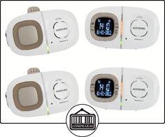 Audioline Baby Care 12 DECT babyphone Marrón, Color blanco - Vigilabebé (DECT babyphone, 300 m, Marrón, Color blanco, LCD, Digital, AAA)  ✿ Vigilabebés - Seguridad ✿ ▬► Ver oferta: http://comprar.io/goto/B00BRPVJC0