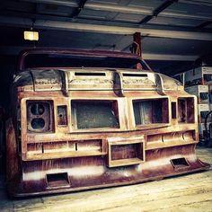 Hell Awaits! #theenforcer #customvan #streetvan #vannin #customvans #hydraulics #vanarchy #okc #vanspotting: