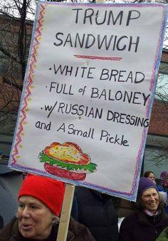 """Trump Sandwich"""