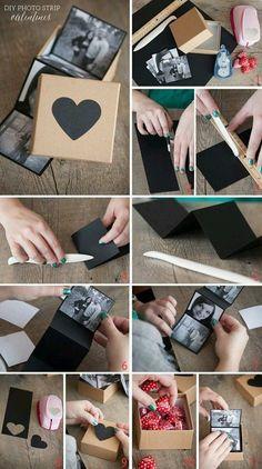 DIY Valentines Gift Boxes diy craft crafts craft ideas easy crafts diy ideas diy crafts home crafts valentines day diy gifs