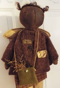 folk art primitive doll