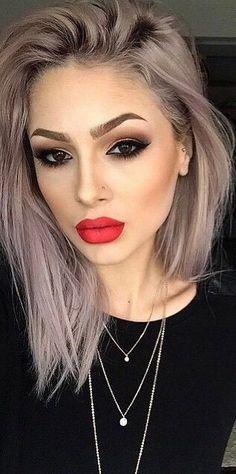 Simple yet classic - classic makeup idea