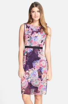 Easter Sunday dress from Nordstrom - Adrianna Papell