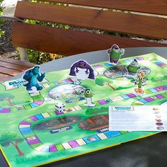 Learn your way around the MU campus with this printable Monsters University Board Game!