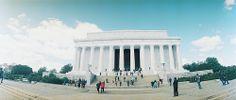 Lincoln Memorial, Washington DC, Horizon Kompakt #lomography