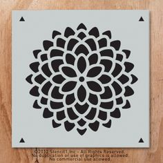Pattern for cut out canvas art