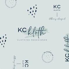 Redesigned KC based clothing company logo by Oregon Lane Studio   www.oregonlane.com
