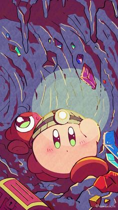 Welcome to /r/Kirby, a kingdom famous for peace and quiet. Kawaii Wallpaper, Wallpaper Iphone Cute, Animes Wallpapers, Cute Wallpapers, Kirby Memes, Kirby Nintendo, Kirby Character, Nintendo Characters, Cute Animal Drawings