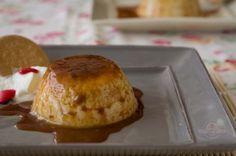 Flan de galletas en microondas