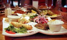 Groupon - Mediterranean Food and Drinks at Agora Mediterranean Kitchen (Half Off). Two Options Available.. Groupon deal price: $7.00