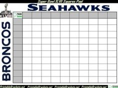 Super Bowl Pools Ideas superbowl party pool friendly wager anyone could be fun Super Bowl Squares Rules Free