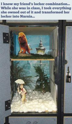 The Lion, The Witch and The Locker…