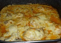 Meat Recipes, Cake Recipes, Cooking Recipes, Creamy Garlic Chicken, Garlic Bread, Natural Remedies, Food And Drink, Tasty, Meals
