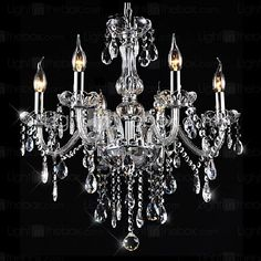 3 Chandelier ,  Traditional/Classic Vintage Electroplated Feature for Crystal CrystalLiving Room Bedroom Dining Room Kitchen Study 2017 - $147.59