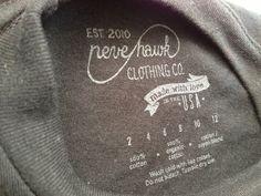 Shirt tag by Bob Galmarini