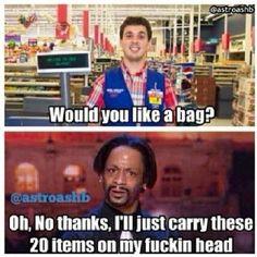 Would you like a bag? - Top 10 Funniest Katt Williams Memes #carry