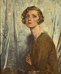 GLADYS COOPER by Sir William Orpen RA RI RHA (1878-1931)