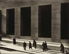 Paul Strand Wall Street, New York, printed Platinum palladium print, Sheet: 11 × 13 × Image: 10 × 12 × Whitney Museum of American Art, New York; Gift of Michael E. Hoffman in honor of Sondra Gilman Photograph by Sheldan C. Edward Weston, Edward Hopper, Straight Photography, Modern Photography, City Photography, Black And White Photography, Minimalist Photography, Vintage Photography, Alfred Stieglitz