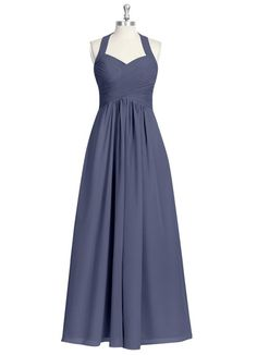 AZAZIE SAVANNAH. Savannah is a floor-length chiffon dress in an A-line cut. #Bridesmaid #Wedding #CustomDresses #AZAZIE