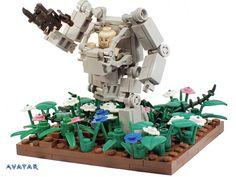 LEGO Avatar Pandora Diorama (via MasterChief 1)