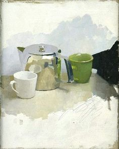 """stilllifequickheart: """" Diarmuid Kelley Not for All the Tea in China 2002 """""""