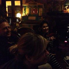 Midnight movies with @imnotarobotgirl, @Adam Wallacavage, @Kat Von D, and sarabellemarcoux. Old Boy is gnarly!!! [January 13th, 2014 via Ton...