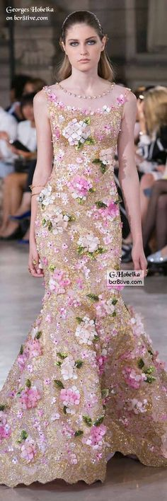 nice Georges Hobeika Fall 2016 Haute Couture...