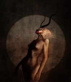 """Onoskelis  was a female demon with a beautiful form mentioned in the Testament of Solomon. """"Her body was that of a woman with a fair complexion, but her legs were those of a mule"""" – TSol 4:2"""