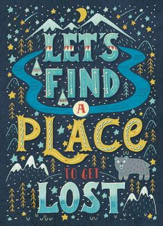 Let's find a place to get lost on Behance