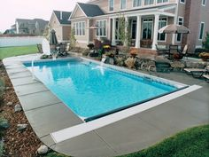 Rectangular Inground Pool Designs pool #065dolphin pools and spas | pool ideas | pinterest | spa