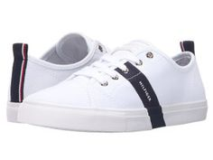 Tenisi Tommy Hilfiger albi Tommy Hilfiger Fashion, Discount Shoes, Brand You, Keds, Athletic Shoes, Shoes Sneakers, Footwear, Accessories, Shopping