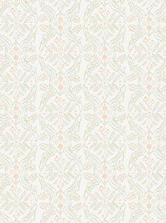 Juju Papers :: Salad Days :: Straw and Gloaming Neon Orange on Cream :: wallpaper