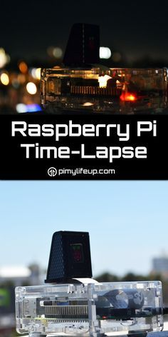 You can use the Pi and a Pi camera to make some pretty amazing time-lapses! If you hook the Pi up to a battery pack then you can place it in some pretty amazing spots such as up in a tree.