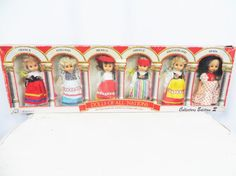 Vintage Dolls, Collectible Dolls, Dolls of the World, Dolls of all Nations, Dolls for Girls, Dolls and Miniature, Mexican Doll, Spanish Doll