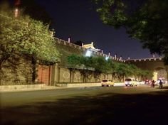 Xi'an China City Wall night view - captivating 600 years of history  by Flo Li